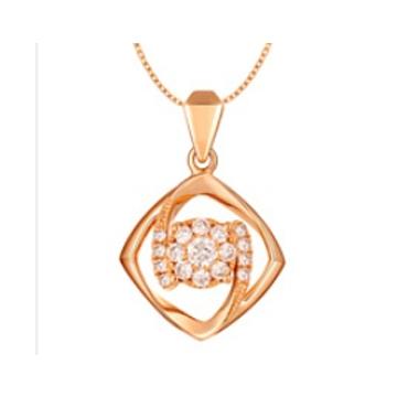 黄金珠宝投资-时尚吊坠系列精品项