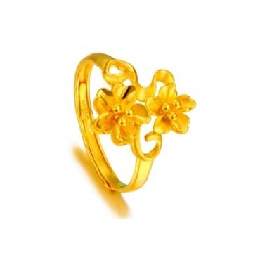 黄金珠宝投资黄金戒指系列精美戒指