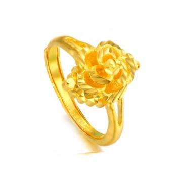 黄金珠宝投资黄金戒指系列时尚精品
