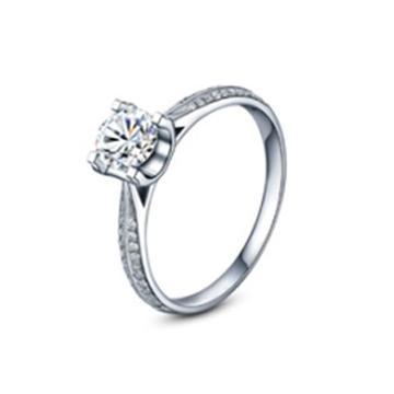 黄金珠宝投资 婚戒系列钻石戒指