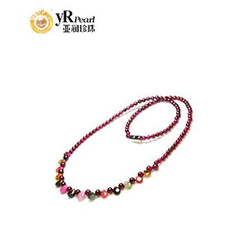 亚润珍珠时尚、碧玺项链
