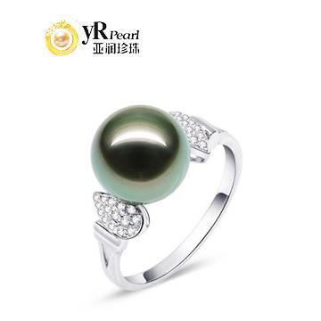 亚润珍珠-18K金高雅珍珠戒指