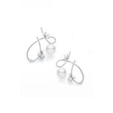 月光珍珠精品优美珍珠耳饰