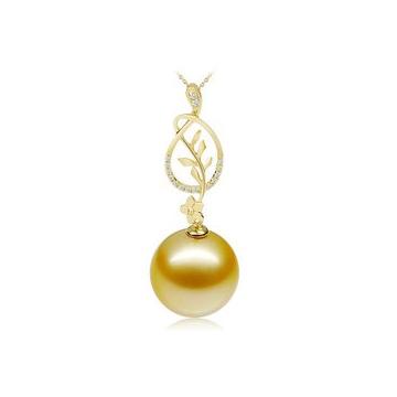 月光珍珠奢华迷人珍珠吊坠