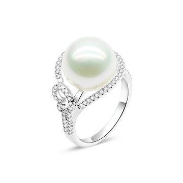 月光珍珠时尚珍珠戒指