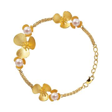 千叶珠宝ingold系列时尚手链