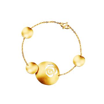 千叶珠宝ingold系列手链