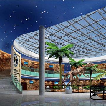 聚豪装饰河源市恐龙博物馆