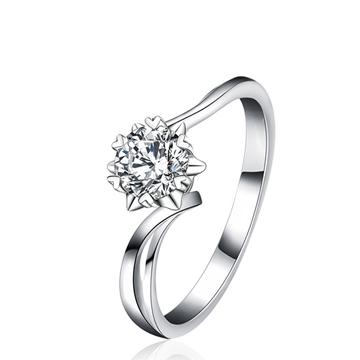 吻爱钻石真爱系列钻戒