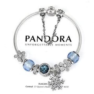 潘多拉蓝色手链