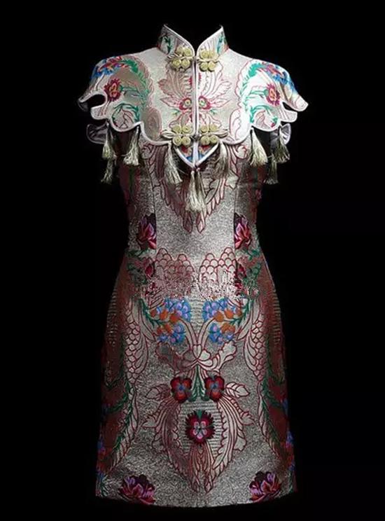 中国结元素高定礼服
