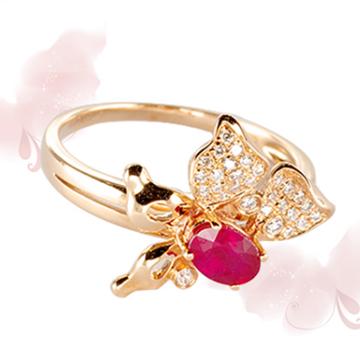 富沃斯珠宝红宝石戒指