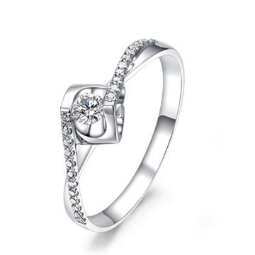 钻定一生钻石戒指