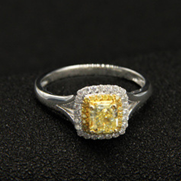 东韵珠宝金色戒指