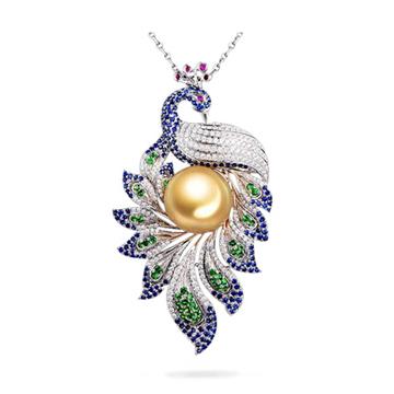 卡拉菲雀舞珍珠吊��