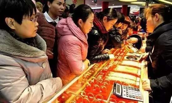 中国人,黄金首饰