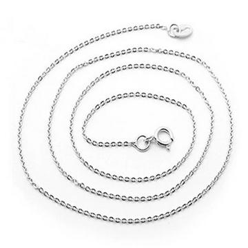 恒兴珠宝韩版时尚短款锁骨链-压光