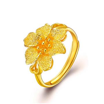 中国金行黄金戒指