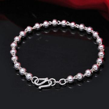 凝爱珠宝纯银佛珠手链-圆珠手链