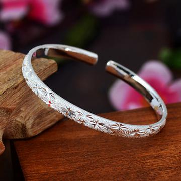 凝爱珠宝开口满天星-女款银饰