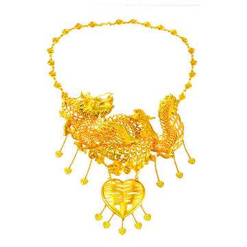 大牌珠宝富贵黄金项链