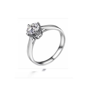 壹爱钻石戒指简单爱