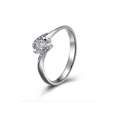 壹爱钻石戒指跨越星河