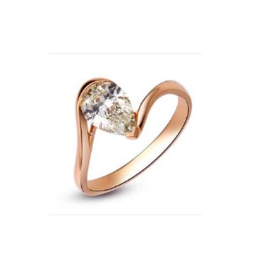 壹爱钻石戒指掌上明珠