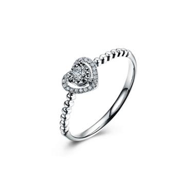 壹爱钻石戒指钟情于你
