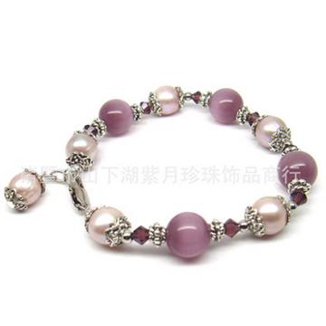 紫月珍珠韩版时尚款手链