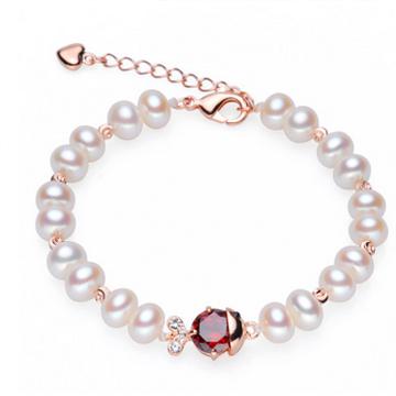 紫月珍珠新款手链