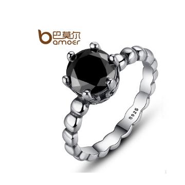 巴莫尔s925银指环
