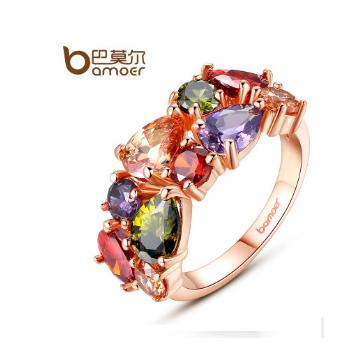 巴莫尔彩色锆石戒指