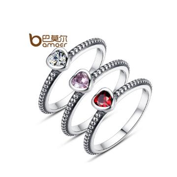 巴莫尔纯银戒指