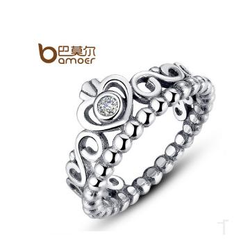 巴莫尔皇冠镶钻戒指