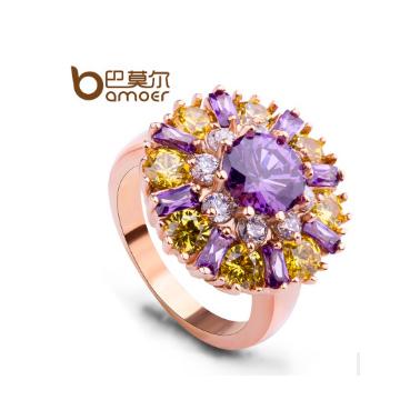 巴莫尔水晶锆石戒指
