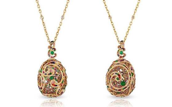 法贝热fabergé推出全新洛可可风格珠宝