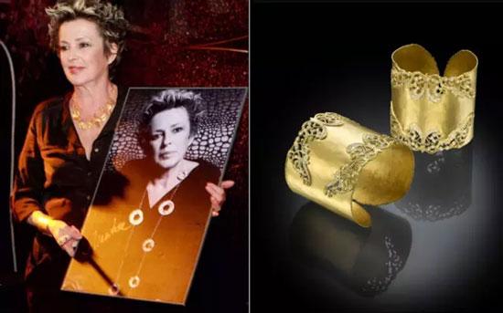 爱丽丝珠宝国际设计师意大利花后MARIKA系列作品 爱丽丝珠宝国际设计师意大利花后MARIKA系列作品,为前来参观的珠宝界人士、设计师以及艺术家带来了一场美轮美奂的珠宝秀,让此次深圳珠宝时尚周更加璀璨和闪耀。