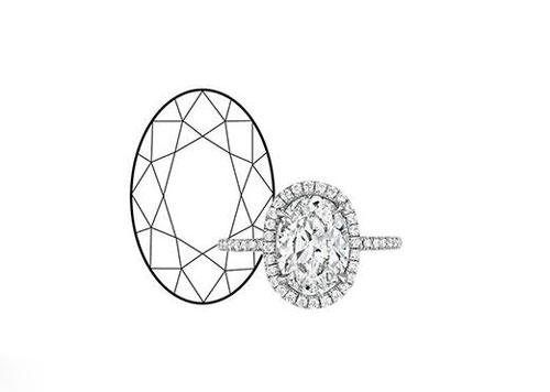 钻石手绘设计素描
