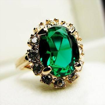 瑞梵珠宝高端祖母绿戒指