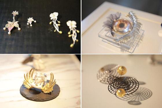 学院珠宝学院52名2017届珠宝首饰设计专业毕业生的200余件原创首饰.