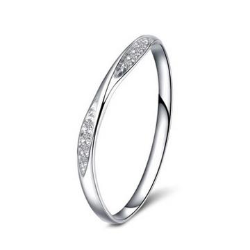 金盈丰珠宝天然钻石戒指