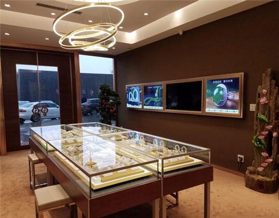 珠宝门店设计效果图