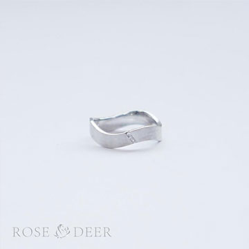 ROSEDEER(玫瑰与小鹿)情侣对戒