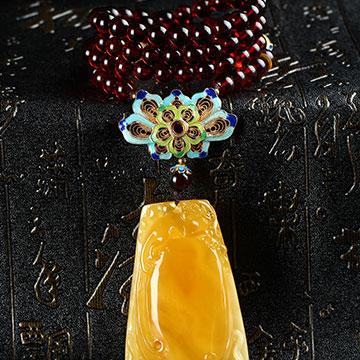 安曼博珠宝琥珀精致手串