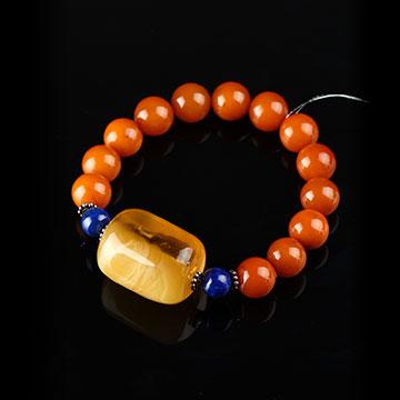 安曼博珠宝琥珀手串