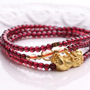美福珠寶薰衣草紫水晶手鏈