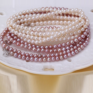 奢美蒂珠宝天然珍珠手链可绕多圈手