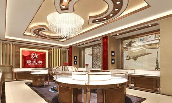 百福展柜珠宝店设计装修——平面布局篇