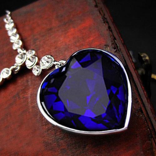 钻石项链海洋之心价值格是多少钱?在哪里可以买得到?